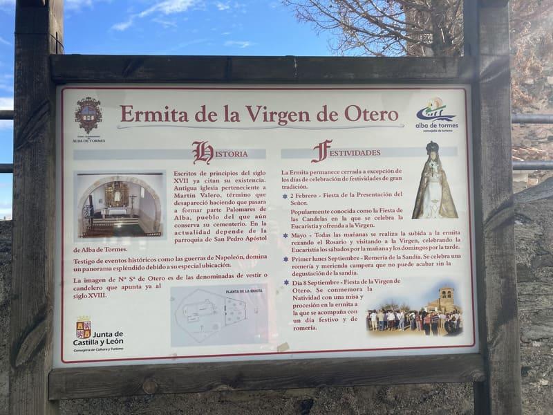 Ruta  Ermita de la Virgen de Otero