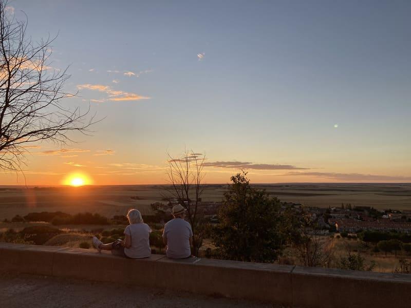 qué hacer en Peñaranda: mirador del cerro del viso