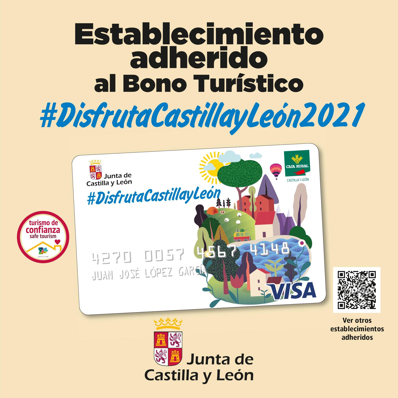 Bono turístico #DisfrutaCastillayLeón2021